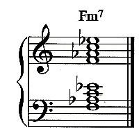 F Minor 7 Chord  F Minor 7 Chord